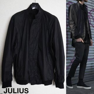 ユリウス(JULIUS)のJULIUS シームドブルゾン 1 2017SS ブラック ジャケット ユリウス(ブルゾン)