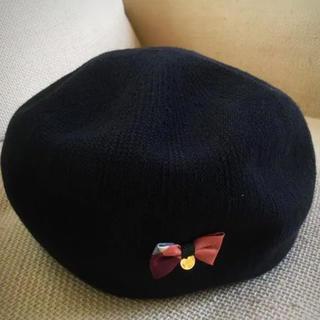バーバリーブルーレーベル(BURBERRY BLUE LABEL)のバーバリーブルーレーベル ベレー帽(ハンチング/ベレー帽)