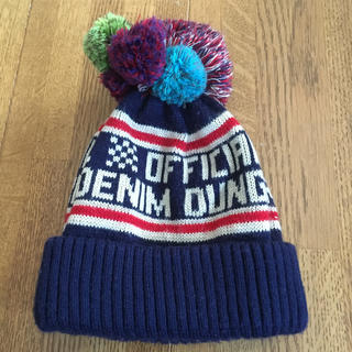 デニムダンガリー(DENIM DUNGAREE)のデニム&ダンガリー ニット帽(帽子)