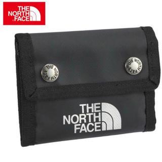 ザノースフェイス(THE NORTH FACE)のTHE NORTH FACE 三つ折り財布 ブラック(折り財布)