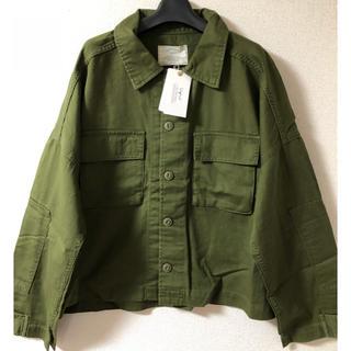 アングリッド(Ungrid)の《新品》アングリッド   ルーズミリタリーシャツジャケット(ミリタリージャケット)
