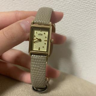 エテ(ete)の腕時計(腕時計)