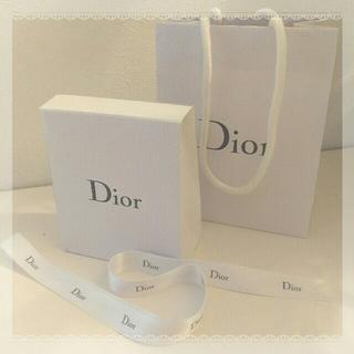 ディオール(Dior)のDior プレゼントBOX 3点セット ラッピングリボン サテンリボン(ラッピング/包装)