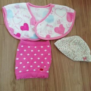 西松屋 - 赤ちゃん 帽子 腹巻き スリーパー