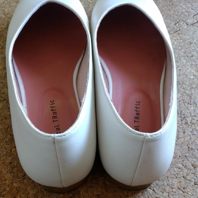 ORiental TRaffic(オリエンタルトラフィック)の秋冬新作⭐Vカットフラットパンプス レディースの靴/シューズ(ハイヒール/パンプス)の商品写真