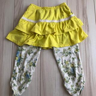 ベルメゾン - GITA スパッツ付きスカート  110cm