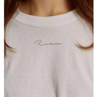ロキエ(Lochie)の❤︎RANDEBOO logo T-shirt❤︎(Tシャツ/カットソー(七分/長袖))