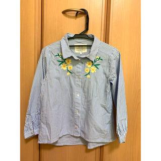 しまむら - バースデイ ストライプシャツ 120
