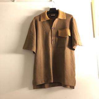 ドリスヴァンノッテン(DRIES VAN NOTEN)のDRIES VAN NOTEN 18SS KNITTED POLO(ポロシャツ)
