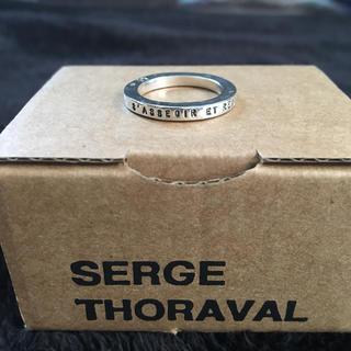 アッシュペーフランス(H.P.FRANCE)のSERGE THORAVAL リング(リング(指輪))