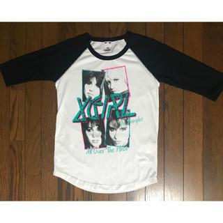 エックスガール(X-girl)の中古品 エックスガール 七分袖Tシャツ サイズ1 (Tシャツ(長袖/七分))