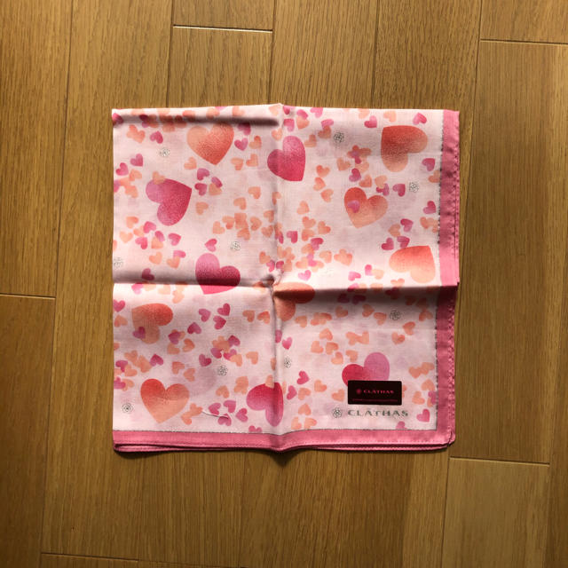 CLATHAS(クレイサス)のハンカチ レディースのファッション小物(ハンカチ)の商品写真