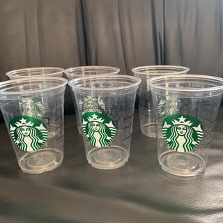 スターバックスコーヒー(Starbucks Coffee)のスタバ プラカップ トールサイズ 6個(各種パーツ)