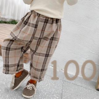 プティマイン(petit main)の[韓国子供服]チェックズボン(パンツ/スパッツ)