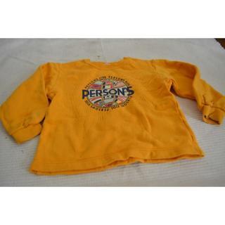 パーソンズキッズ(PERSON'S KIDS)の同梱値引★100㎝ パーソンズ トレーナー 黄色(Tシャツ/カットソー)