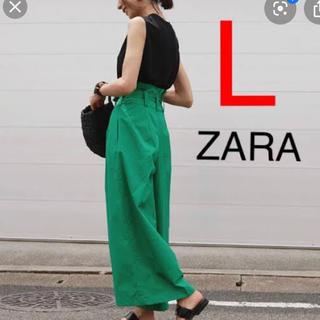 ザラ(ZARA)の新品未使用タグ付き♪ ZARA WOMANワイドパンツ(カジュアルパンツ)