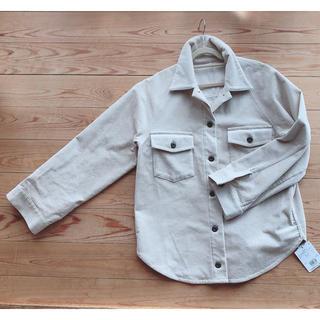 プラステ(PLST)のプラステ(PLST)コーデュロイビッグシャツ 新品未使用(シャツ/ブラウス(長袖/七分))
