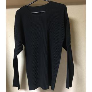 プリーツプリーズイッセイミヤケ(PLEATS PLEASE ISSEY MIYAKE)のhomme plisse issey miyake プリーツTシャツ(Tシャツ/カットソー(七分/長袖))