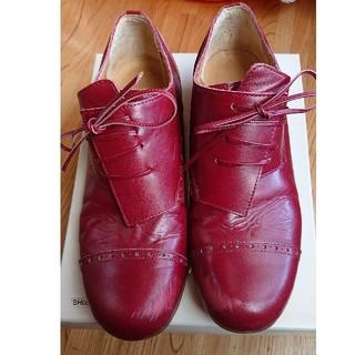 ジェーンマープル(JaneMarple)のジェーンマープル赤い靴(ローファー/革靴)