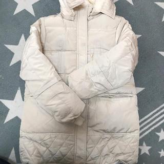 新品、未使用の裏ボア、ベージュ色、XLのコートです。(その他)
