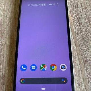 アンドロイド(ANDROID)のpixel3a 64GB SIMロック解除ずみ (スマートフォン本体)
