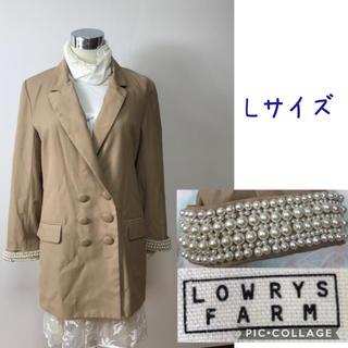 ローリーズファーム(LOWRYS FARM)の女性 L《LOWRYS FARM》(袖パール)コート(その他)