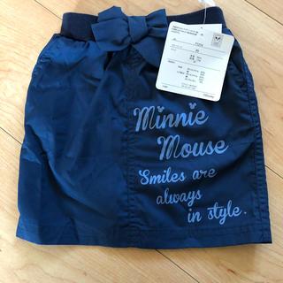 ディズニー(Disney)の値下げ!新品タグ付きミニースカート  80センチ(スカート)
