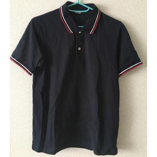 ジーユー(GU)のGU ポロシャツ ネイビー(ポロシャツ)