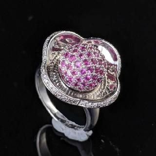 Diamond Ruby リング(リング(指輪))