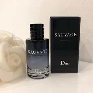 クリスチャンディオール(Christian Dior)のディオール ソヴァージュ オードゥトワレ 10ml(香水(男性用))