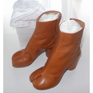 マルタンマルジェラ(Maison Martin Margiela)のマルジェラ brown 足袋ブーツ tabi 35 19SS(ブーツ)