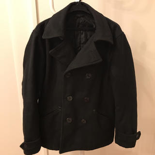 GU / Pコート/Mサイズ/ブラック
