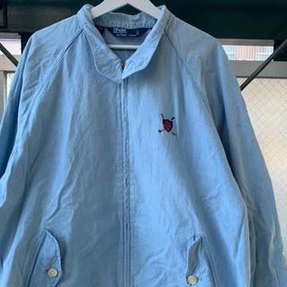 ラルフローレン(Ralph Lauren)の90s 古着 Ralph Lauren スウィングトップ 希少 レアカラー(ブルゾン)