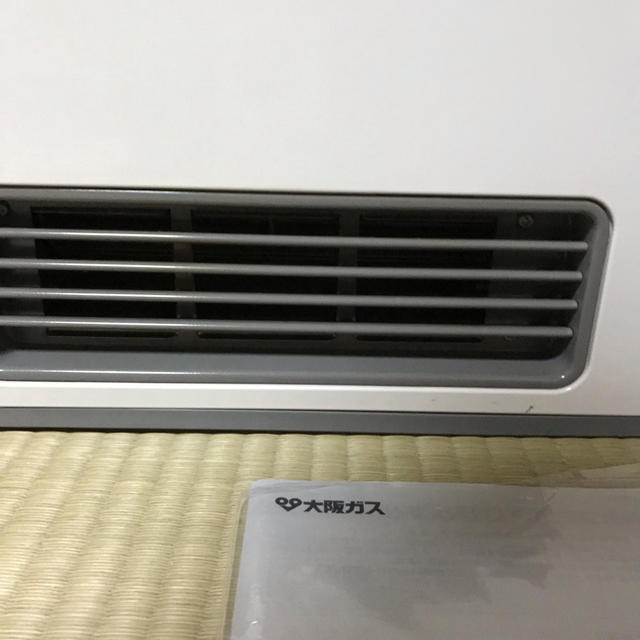 NORITZ(ノーリツ)の大阪ガス ガスファンヒーター 都市ガス13A 使用歴浅 スマホ/家電/カメラの冷暖房/空調(ファンヒーター)の商品写真