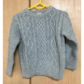 プティマイン(petit main)のベビーセーター(ニット/セーター)