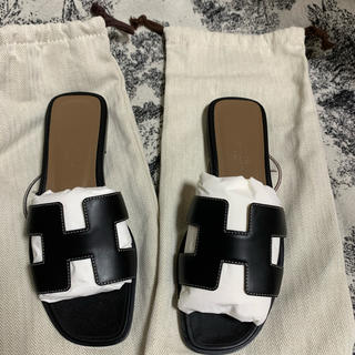 Hermes - 新品 エルメス オラン サンダル H 靴 HERMES