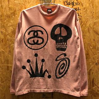 ステューシー(STUSSY)のstussy 長袖Tシャツ ロンT(Tシャツ/カットソー(七分/長袖))
