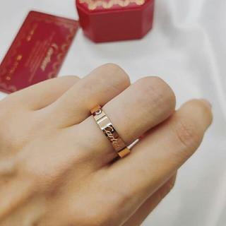 カルティエ(Cartier)のCartierカルティエ リング ピンクゴルード 7号 美品(リング(指輪))