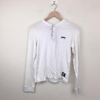 トミー(TOMMY)の新品 未使用 TOMMY トミー Tシャツ 長袖 S 白 カジュアル シンプル(Tシャツ/カットソー(七分/長袖))