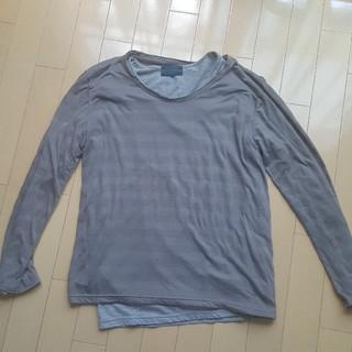 レイジブルー(RAGEBLUE)のレイジブルー 長袖重ね着ロングTシャツ メンズロンTシャツおまけ付き(Tシャツ/カットソー(七分/長袖))