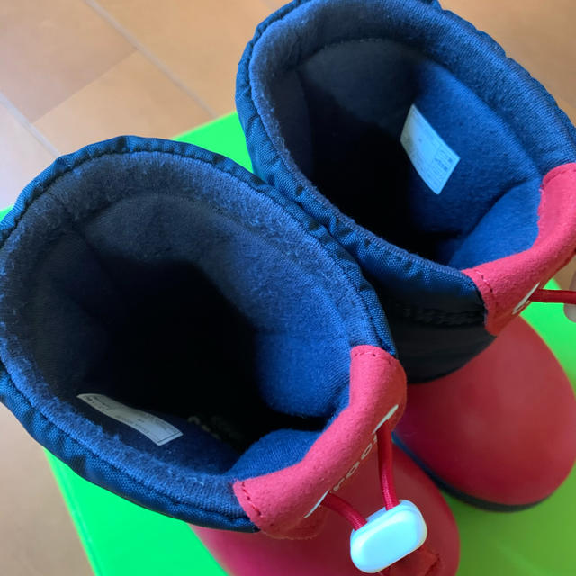 crocs(クロックス)の美品!クロックス  ブーツ キッズ/ベビー/マタニティのベビー靴/シューズ(~14cm)(長靴/レインシューズ)の商品写真