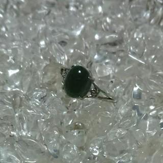 ☆断捨離品・グリーンルチル(緑針水晶) 指輪 リング☆(リング(指輪))