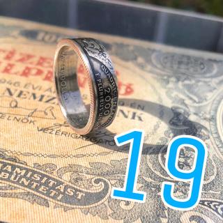 アメリカコインリング 2000年 外国コイン バージニア州(リング(指輪))