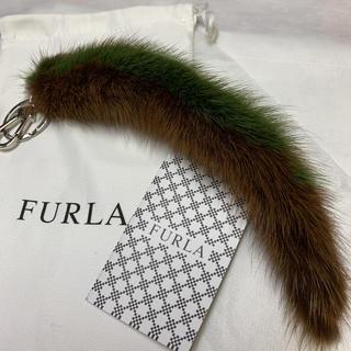 フルラ(Furla)のFURLA フルラ ファー キーリング☆チャーム  新品(キーホルダー)