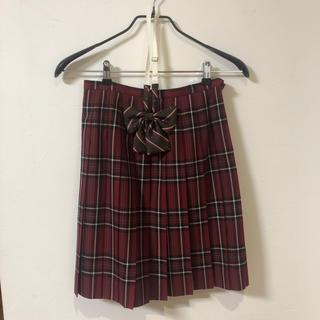 イーストボーイ(EASTBOY)のEASTBOY  プリーツスカート & リボンタイ 2点セット(ひざ丈スカート)