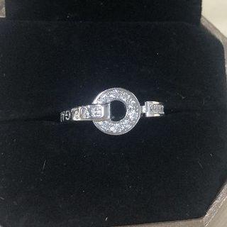 ブルガリ(BVLGARI)のブルガリ 正規品BVLGARIBVLGARI ホワイトゴールドとダイヤ 指輪(リング(指輪))