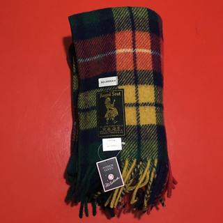 ジャーナルスタンダード(JOURNAL STANDARD)のRoyal Scot ブランケット デッドストック 新品 イギリス(マフラー/ショール)