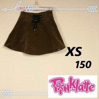 PINK-latte - ピンクラテ コーデュロイ スカート