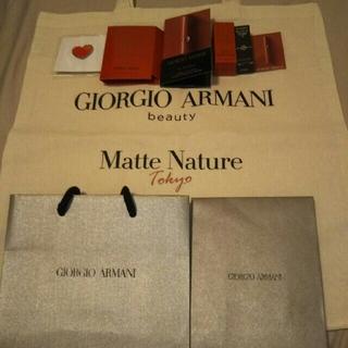 アルマーニ(Armani)のジョルジオアルマーニ 7点セット リップマエストロ、香水、エコバッグなど(サンプル/トライアルキット)