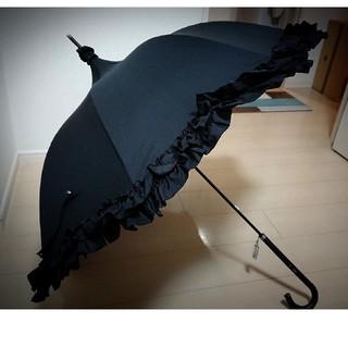 アトリエボズ(ATELIER BOZ)のルミエーブル  アンブレラ 黒 ATELIER BOZ(傘)